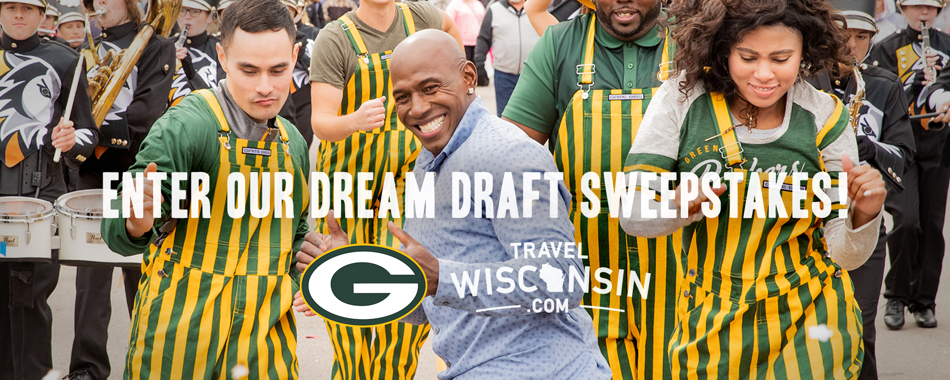 Packers Tickets Dream Draft Sweepstakes | Travel Wisconsin
